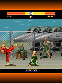 Mobile game Street Fighter 2: The world warrior - screenshots. Gameplay Street Fighter 2: The world warrior
