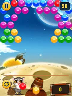Mobile game Bubble shooter - screenshots. Gameplay Bubble shooter