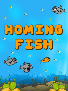 Download free mobile game: Homing fish - download free games for mobile phone