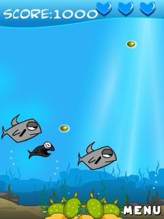 Mobile game Homing fish - screenshots. Gameplay Homing fish