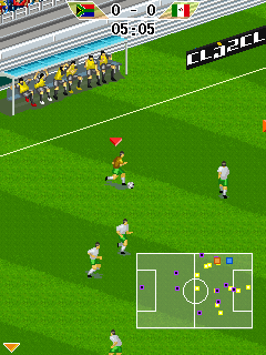 Mobile game FIFA World cup 2010: South Africa - screenshots. Gameplay FIFA World cup 2010: South Africa