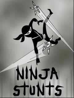Download free mobile game: Ninja stunts - download free games for mobile phone