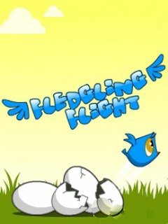 Download free mobile game: Fledgling flight - download free games for mobile phone