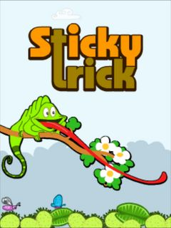 Download free mobile game: Sticky trick - download free games for mobile phone