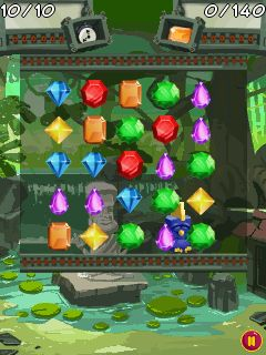 Mobile game Jewel flip - screenshots. Gameplay Jewel flip