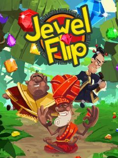 Download free mobile game: Jewel flip - download free games for mobile phone