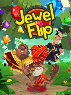 Jewel Flip Asha 306 Java game