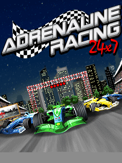 Download free mobile game: Adrenaline racing 24x7 - download free games for mobile phone