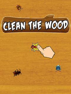 Download free mobile game: Clean the wood - download free games for mobile phone