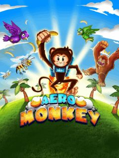 Download free mobile game: Aero Monkey - download free games for mobile phone
