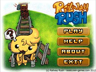 Download free mobile game: Railway rush - download free games for mobile phone