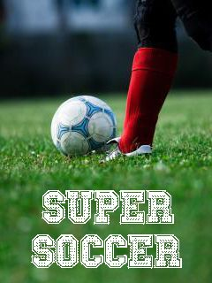 Download free mobile game: Super soccer - download free games for mobile phone