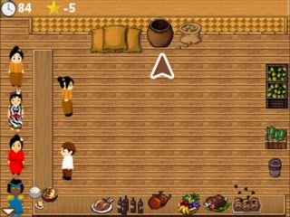 Mobile game Cooking express Java - screenshots. Gameplay Cooking express Java
