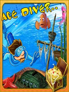 Download free mobile game: Ace diver - download free games for mobile phone