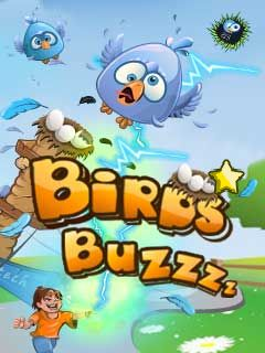 Download free mobile game: Birds Buzzzz - download free games for mobile phone