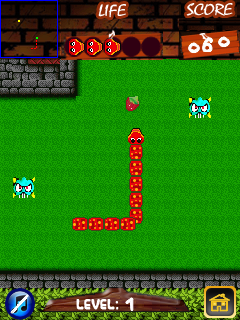 Mobile game Super snake: Pro - screenshots. Gameplay Super snake: Pro