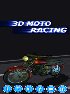 Download free mobile game: Moto racing 3D - download free games for mobile phone