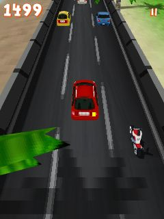 Mobile game Moto racing 3D - screenshots. Gameplay Moto racing 3D