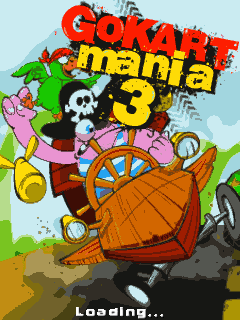 Download free mobile game: Go kart mania 3 - download free games for mobile phone