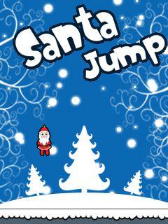 Download free mobile game: Santa jump - download free games for mobile phone