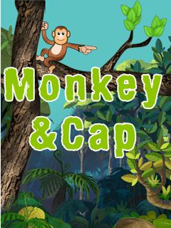 Download free mobile game: Monkey and cap - download free games for mobile phone