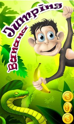 Download free mobile game: Jumping banana - download free games for mobile phone