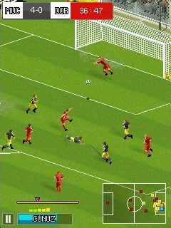 Mobile game Real football 2014 - screenshots. Gameplay Real football 2014