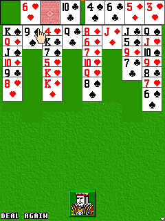 Mobile game Freecell - screenshots. Gameplay Freecell