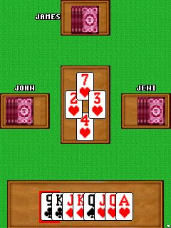 Mobile game Hearts classic - screenshots. Gameplay Hearts classic