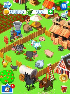 Mobile game Green farm 3 - screenshots. Gameplay Green farm 3