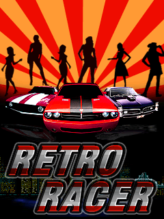 Download free mobile game: Retro racer - download free games for mobile phone