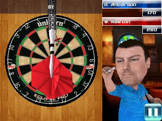 Mobile game PDC World championship darts 2013 - screenshots. Gameplay PDC World championship darts 2013