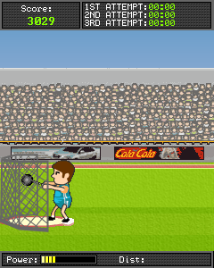 Mobile game Track and field: Go for gold 2 - screenshots. Gameplay Track and field: Go for gold 2