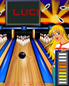 Mobile game Lucky strike bowling - screenshots. Gameplay Lucky strike bowling