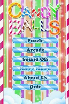Mobile game Candy balls - screenshots. Gameplay Candy balls