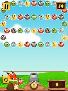 Mobile game Bird shooter - screenshots. Gameplay Bird shooter