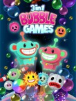 In addition to the  game for your phone, you can download 3 in 1 Bubble games for free.