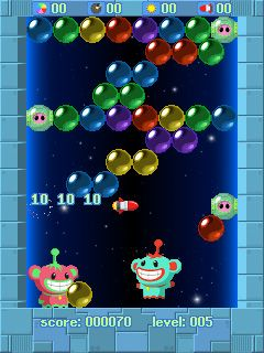 Mobile game 3 in 1 Bubble games - screenshots. Gameplay 3 in 1 Bubble games