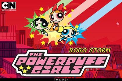 Download free mobile game: The Powerpuff girls: Robo storm - download free games for mobile phone