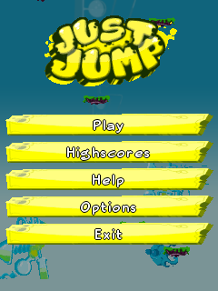 Mobile game Just jump - screenshots. Gameplay Just jump