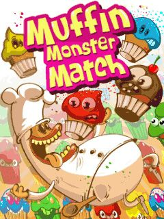 Download free mobile game: Muffin monster match - download free games for mobile phone