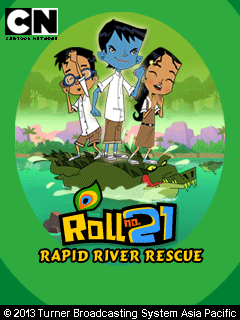Download free mobile game: Roll No21: Rapid river rescue - download free games for mobile phone