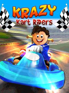 Download free mobile game: Krazy kart riders - download free games for mobile phone