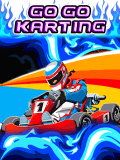 Download free mobile game: Go Go Karting - download free games for mobile phone