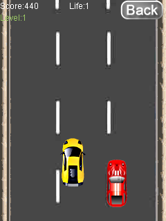 Mobile game Fast racing - screenshots. Gameplay Fast racing