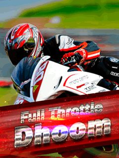 Download free mobile game: Full throttle: Dhoom - download free games for mobile phone