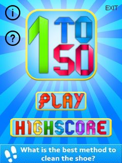 Download free mobile game: 1 to 50 - download free games for mobile phone
