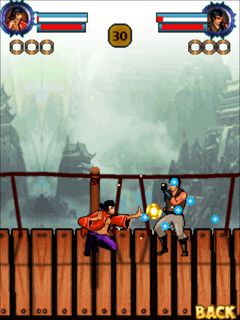 Kung fu combat game ponsel Java jar