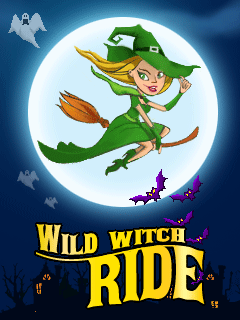 Download free mobile game: Wild witch ride - download free games for mobile phone