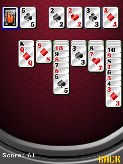 Mobile game Solitaire pro - screenshots. Gameplay Solitaire pro
